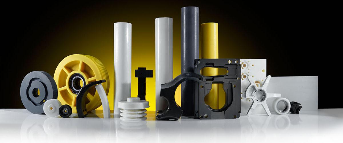 Breite Palette technischer Kunststoffe und Konstruktionsteile